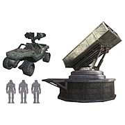 Halo Micro Ops Series 2 Missile Launcher and Vehicles Pack