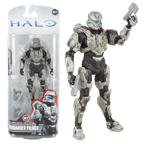 Halo 4 Series 3 Commander Palmer Action Figure