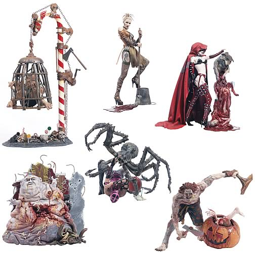 McFarlane Monsters Series 4 Action Figure Set