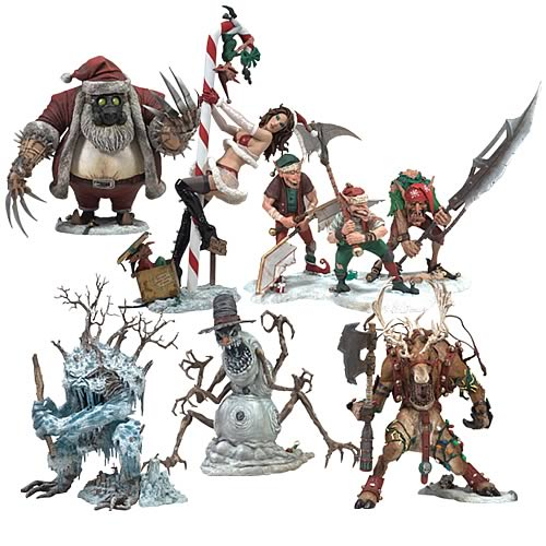 McFarlane's Monsters Series 5 Christmas Action Figure Case