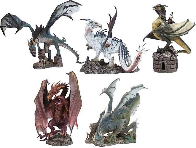 McFarlane Dragons Series 1 Set