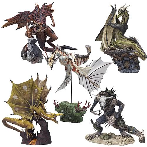 McFarlane Dragons Series 3 Set