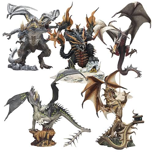 McFarlane Dragons Series 4 Set