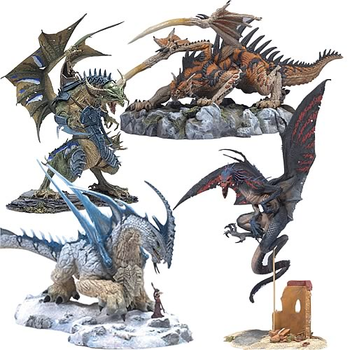 McFarlane Dragons Series 6 Action Figures Case