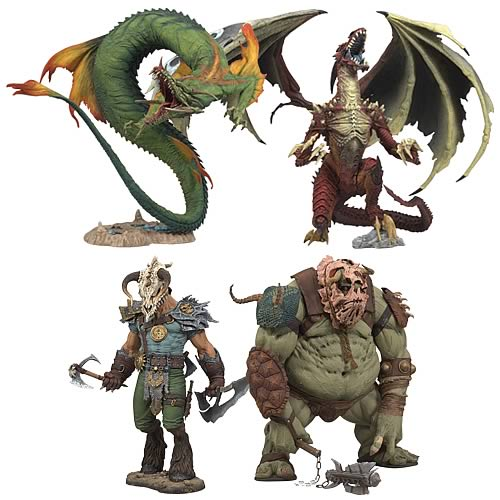 McFarlane's Fantasy Wave 1 Action Figure Set