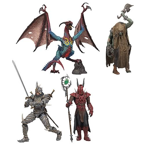 McFarlane's Fantasy Wave 2 Figure Set