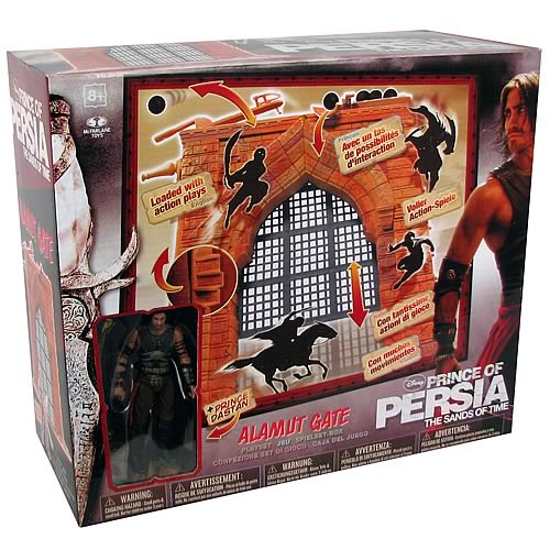 Prince of Persia Sands of Time Deluxe Figure Boxed Set