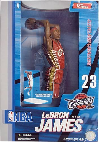 Lebron James 12-inch Figure