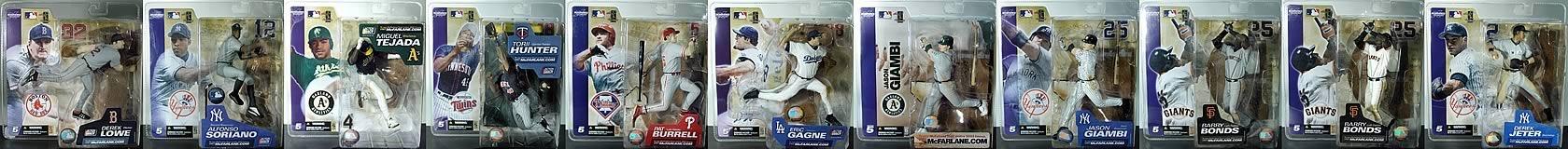 Baseball (Series 5) Figures