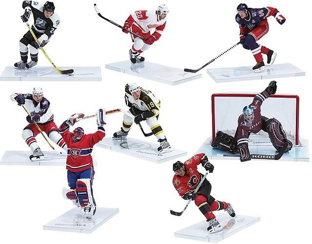 NHL Series 10 Action Figure Case