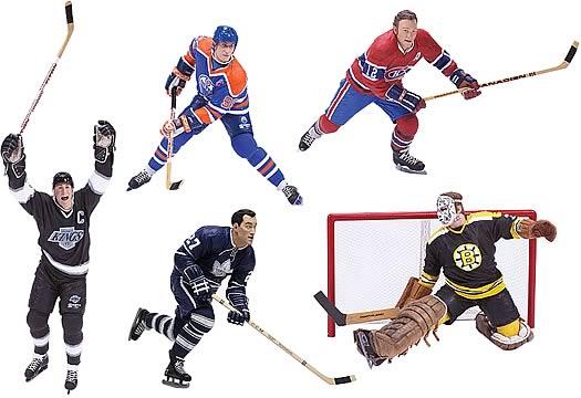 NHL Legends Series 1 Action Figure Case
