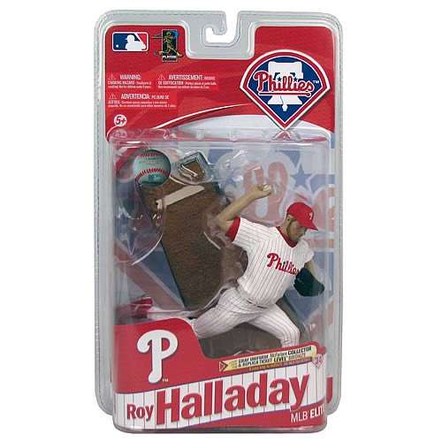MLB Elite Series 1 Roy Halladay Action Figure