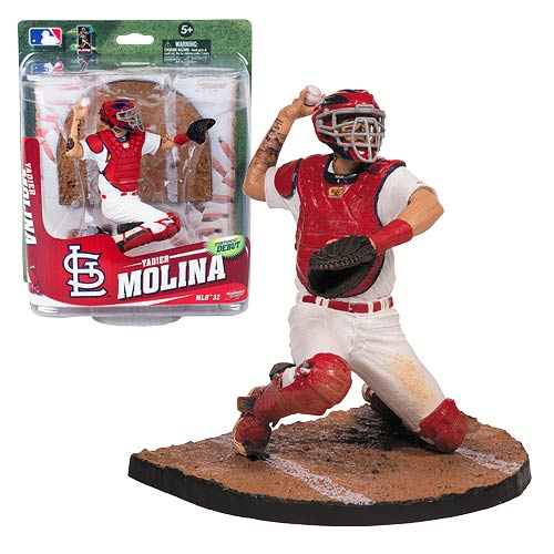 MLB Series 32 Yadier Molina Action Figure