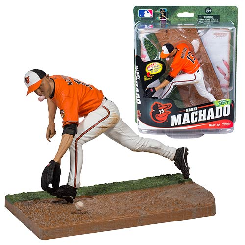 MLB Series 32 Manny Machado Action Figure