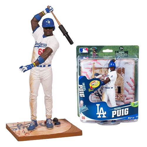MLB Series 32 Yasiel Puig Action Figure