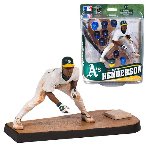 MLB Series 32 Rickey Henderson Action Figure