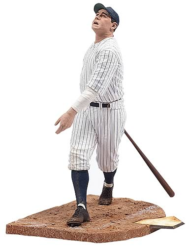 Babe Ruth 12-inch Cooperstown Figure
