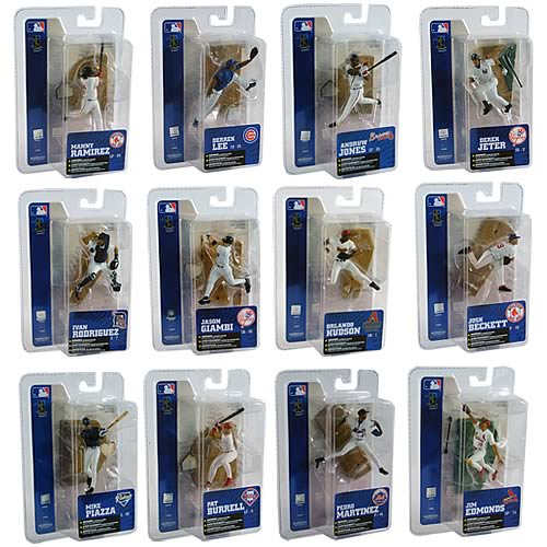 MLB 3-inch Series 5 Single Packs Case