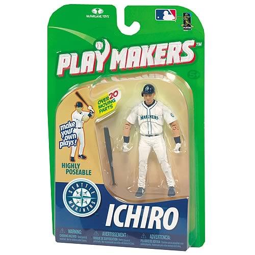 MLB Playmakers Series 1 Ichiro Suzuki Action Figure