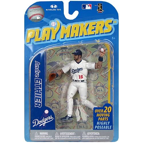 MLB Playmakers Series 2 Andre Ethier Action Figure