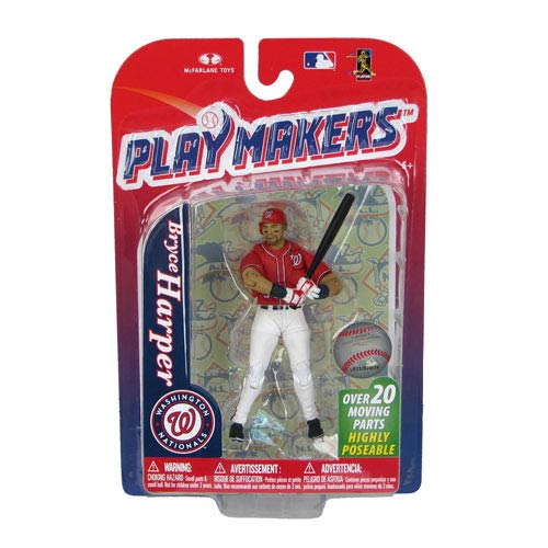 MLB Playmakers Series 4 Bryce Harper Action Figure