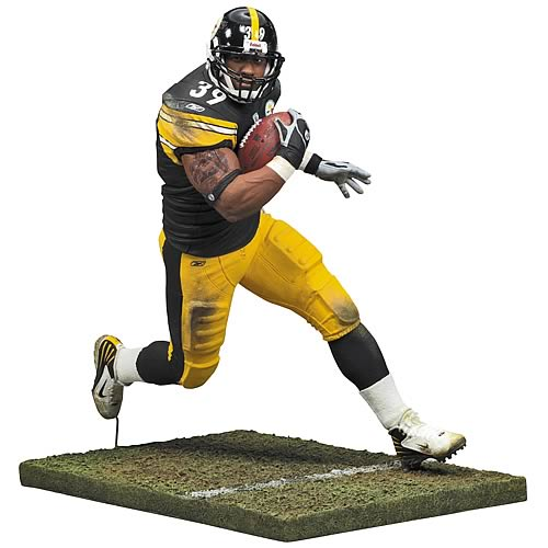 NFL 2008 Wave 1 Willie Parker Action Figure