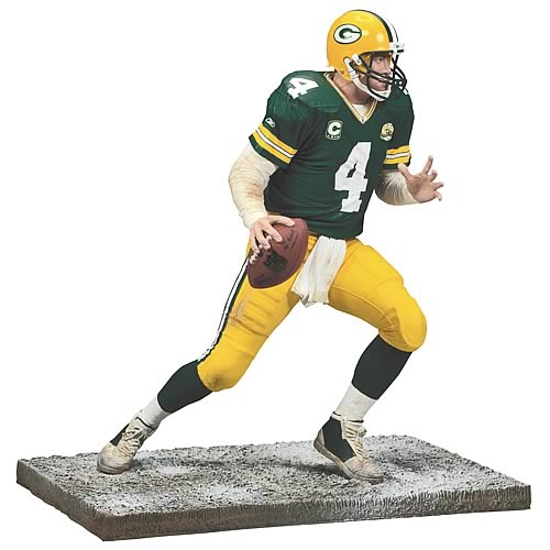 NFL 2008 Wave 1 Brett Favre 5 Action Figure