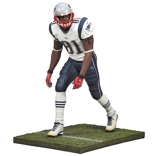 NFL 2008 Wave 1 Randy Moss 5 Action Figure