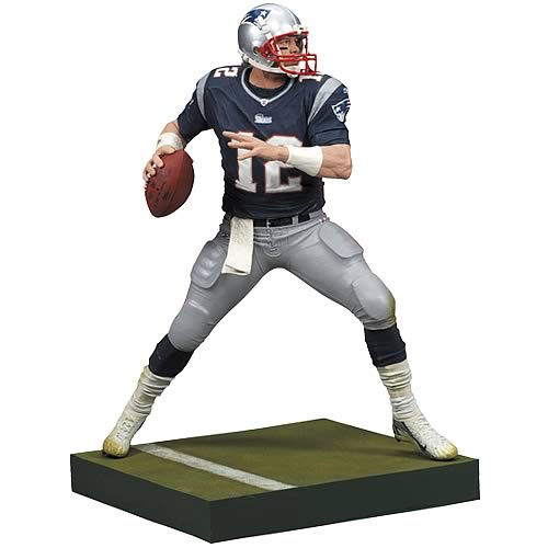 NFL 2008 Wave 2 Tom Brady 3 Action Figure