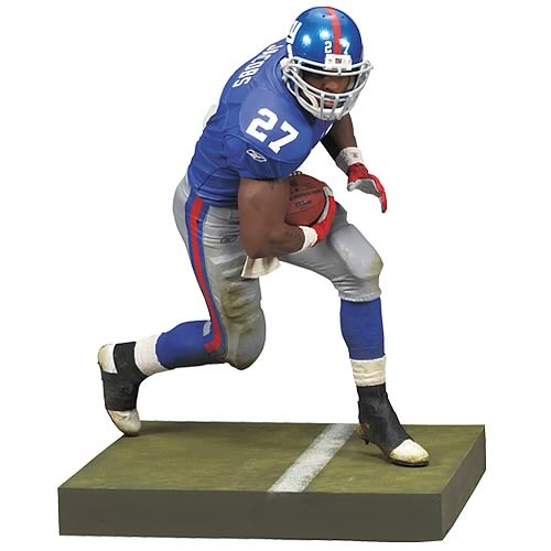 NFL 2008 Wave 2 Brandon Jacobs Action Figure