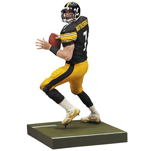 NFL 2008 Wave 2 Ben Roethlisberger 2 Action Figure