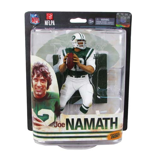 NFL Joe Namath Sports Picks Action Figure