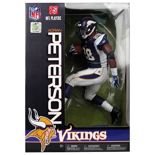 NFL Adrian Peterson Minnesota Vikings 12-Inch Figure