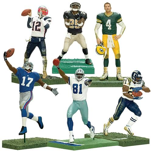 NFL 3-Inch Action Figure Series 5 Case