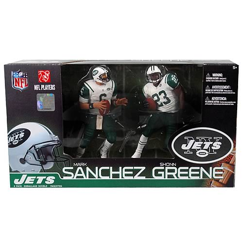 NFL Mark Sanchez and Shonn Greene Figures 2-Pack