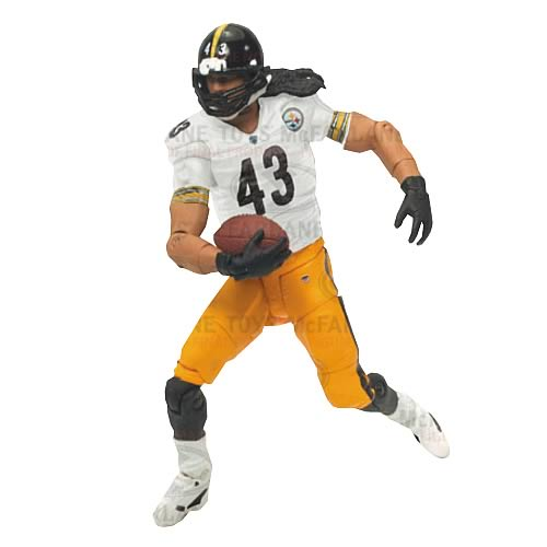 Toys For Troy : Nfl playmakers series troy polamalu action figure