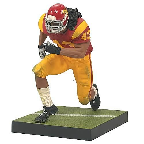 Toys For Troy : Ncaa football series troy polamalu action figure case