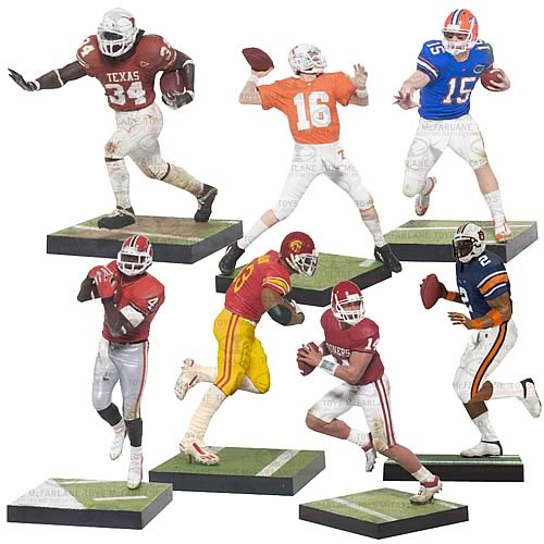 NCAA College Football Series 4 Action Figure Case