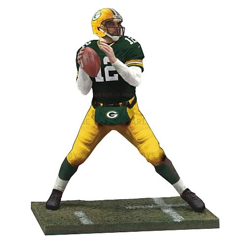 NFL Series 29 Aaron Rodgers Action Figure