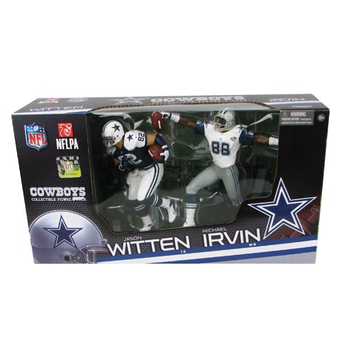 NFL Dallas Cowboys Jason Witten and Michael Irvin Figures