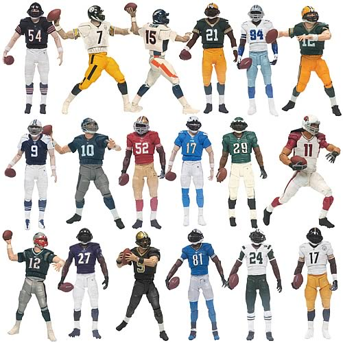 NFL PlayMakers Series 3 Action Figure Set