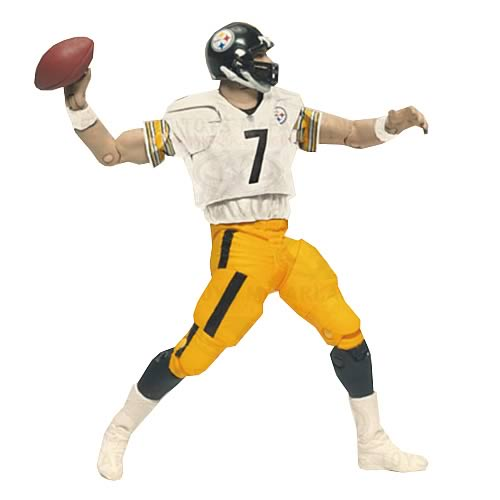 NFL PlayMakers Series 3 Ben Roethlisberger Action Figure