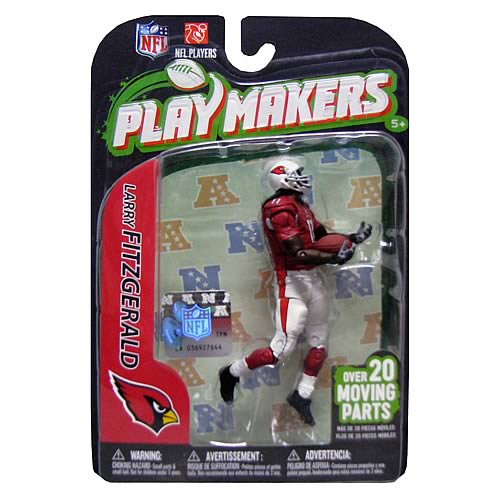 NFL PlayMakers Series 3 Larry Fitzgerald Action Figure