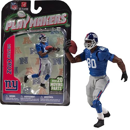 NFL PlayMakers Series 3 Victor Cruz Action Figure