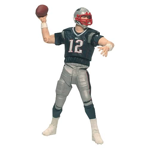 NFL PlayMakers Series 3 Tom Brady Action Figure