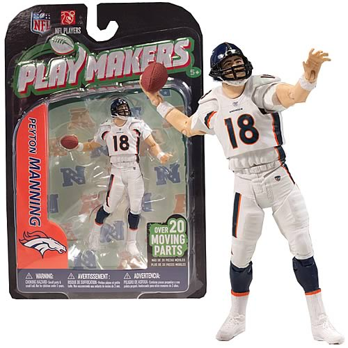 NFL PlayMakers Series 3 Peyton Manning Action Figure