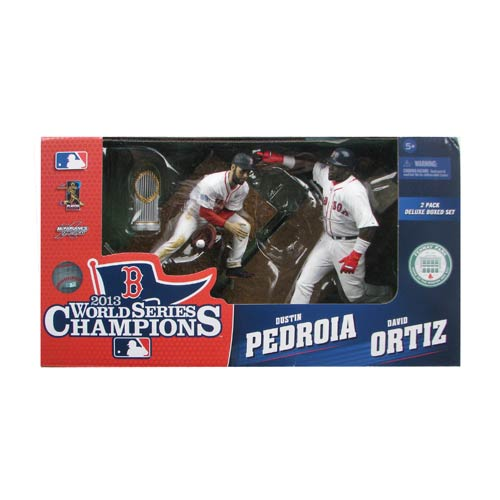 MLB Boston Red Sox Ortiz & Pedroia Sportspicks Figure 2-Pack