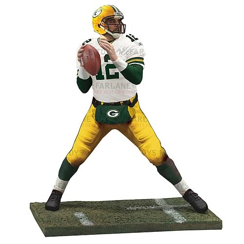 NFL Series 30 Aaron Rodgers Action Figure