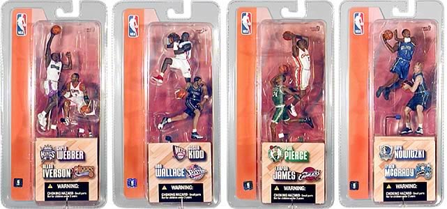 NBA 3-inch Series 1 Figures Case