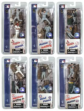 MLB 3 inch Series 2 Figures
